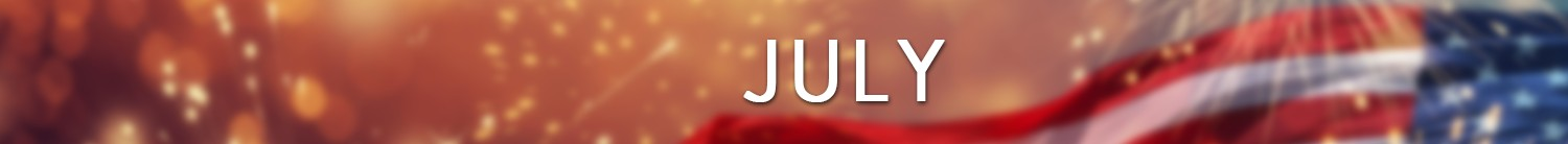 things to do in july